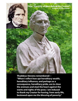 Our Nation' Hero, Thaddeus Stevens
