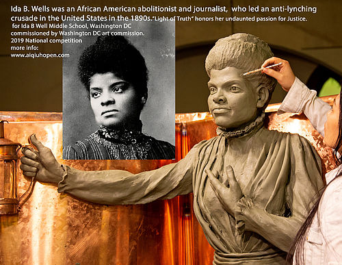 Ida B Well Monument,National Competition,Coolidge High School,DC